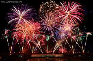 REPORT DES DATES DES FEUX D'ARTIFICE